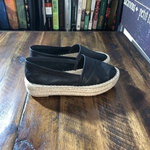 Anthropologie Maypol Closed leather Espadrille